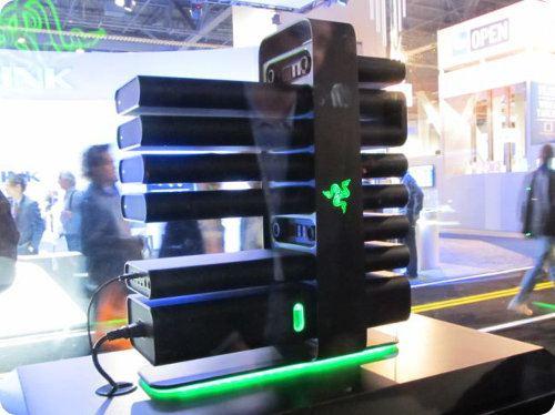 Así es la PC futurística de Razer