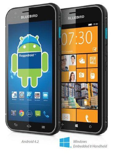 Bluebird BM180: un smartphone que corre con Android y Windows