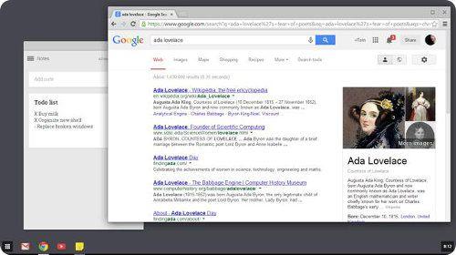 Chrome 32 trae consigo la interfaz de Chrome OS