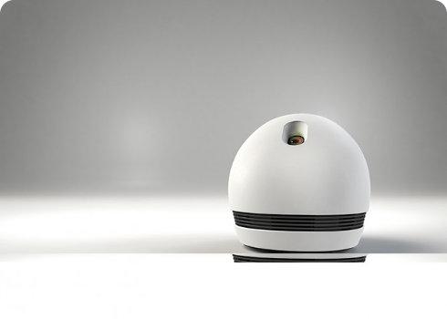 Conoce a Keecker, un robot que te sigue a todos lados, proyecta videos, reproduce música y chequea el correo