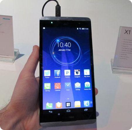 Hisense X1 el enorme phablet con pantalla de 6,8 pulgadas