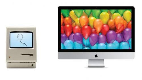 Las Macs cumplieron 30 años
