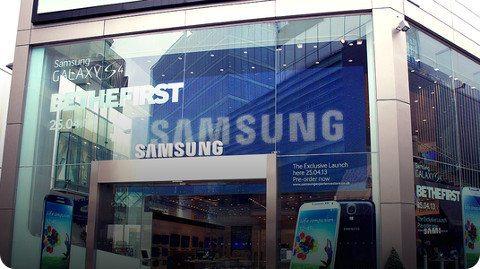 Samsung abrirá 60 tiendas a través de Europa