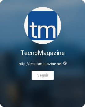 TecnoMagazine ahora en Google+