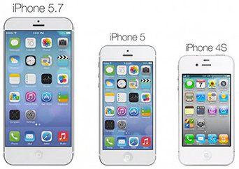 Un iPhone de 4,7 pulgadas y otro de 5,7 pulgadas serán lanzados este año