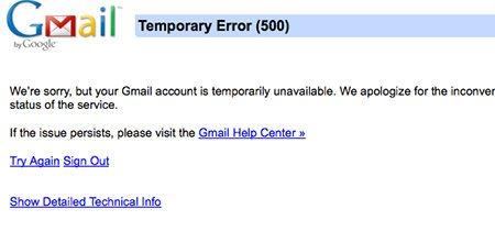 Varios servicios de Google se vieron afectados en las últimas horas