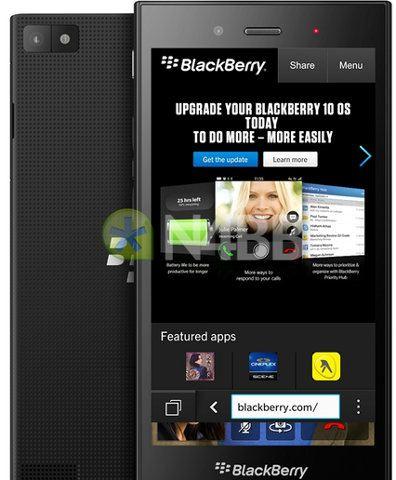 Así se verá el BlackBerry Z3 Jakarta