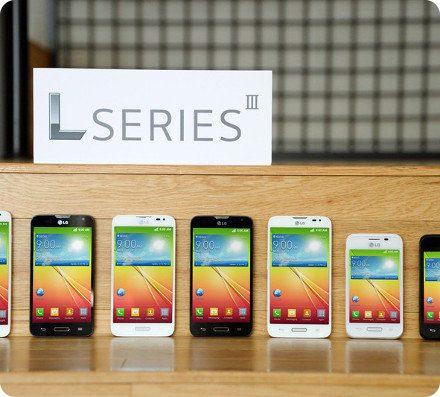 LG revela nuevos smartphones con Android 4.4 KitKat