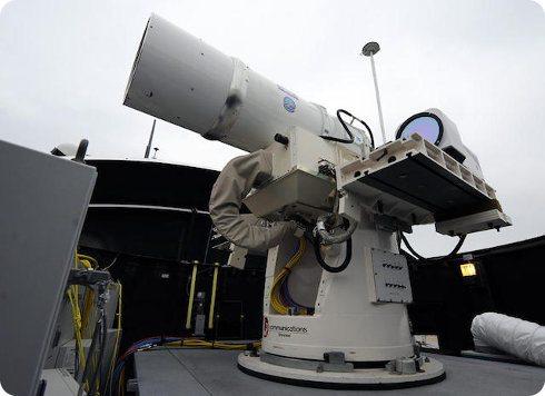 La Armada estadounidense comenzará a usar un cañón láser este año