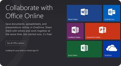 Microsoft lanza Office Online