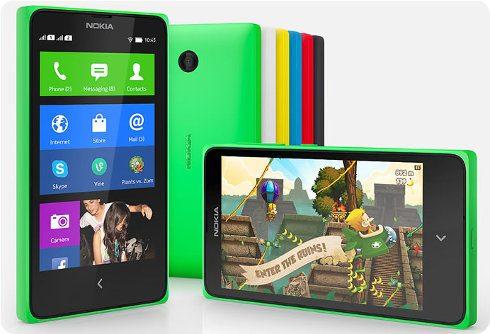 Nokia X: nueva serie de smartphones Android de gama baja