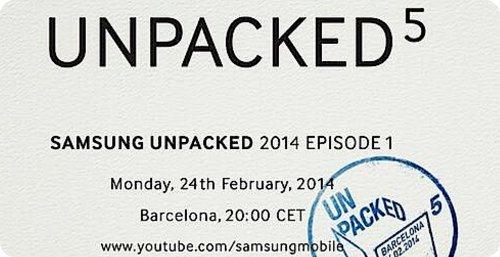"""Samsung comienza a enviar las invitaciones para el evento """"Unpacked 5"""""""