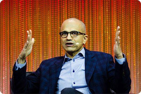 Satya Nadella, el CEO de Microsoft, quiere reinventar la compañía