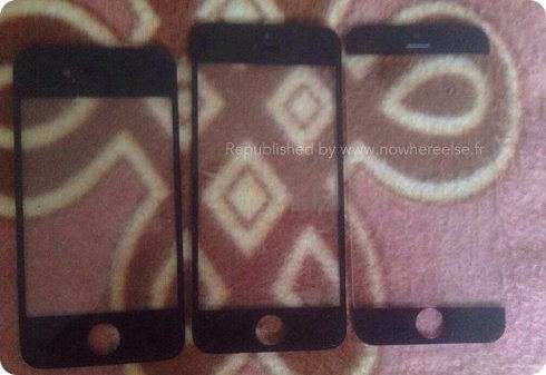 Así podría ser el panel frontal del iPhone 6