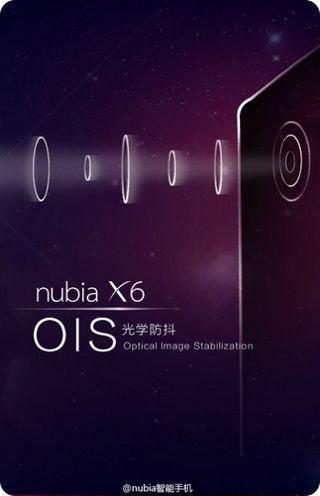 El ZTE Nubia X6 tendrá estabilización óptica