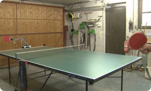 Este robot de seguro te ganaría en un partido de ping pong