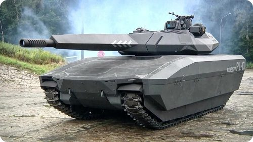 La próxima generación de tanques podría ser invisible