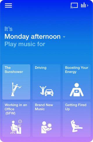 Songza una app que nos sugiere música según distintos factores