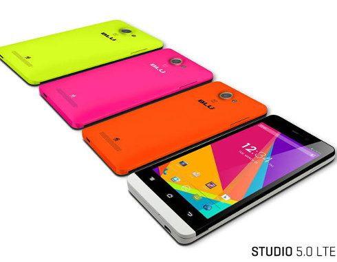 BLU Products Studio 5.0: un smartphone barato con LTE