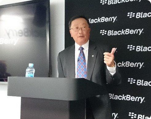 BlackBerry podría vender su división de hardware