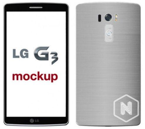 El LG G3 tendrá un diseño muy parecido al del G2