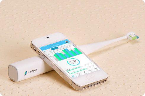 Kolibree: el cepillo de dientes que se conecta con nuestro smartphone