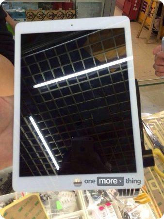 Se filtran fotos del panel frontal del iPad Air 2