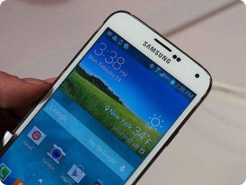 Ya está disponible el Galaxy S5 y los nuevos relojes Gear