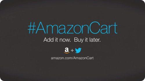 Amazon permite añadir productos al carrito directo desde Twitter