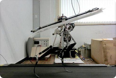 Este robot alcanza velocidades de hasta 46 kilómetros por hora