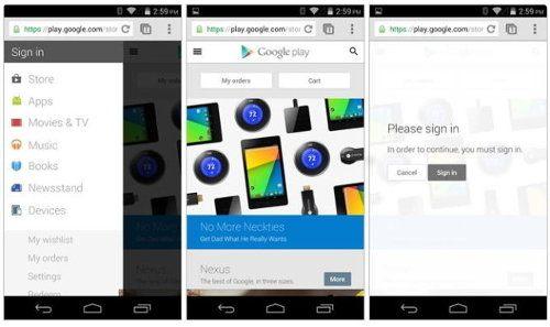 La Play Store recibe una nueva interfaz móvil