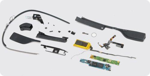 Los componentes de Google Glass cuestan apenas $80 dólares