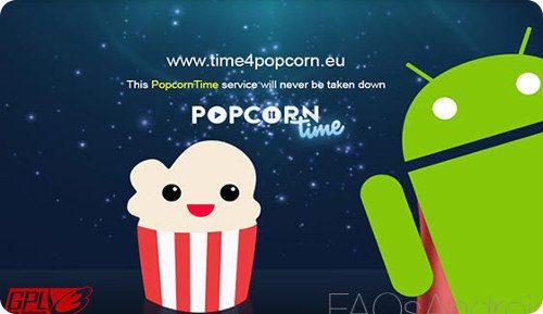 Popcorn Time llega a Android