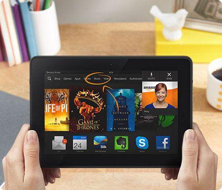 Samsung y Amazon anuncian un nuevo servicio nueva tablet Kindle en camino