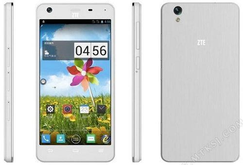 Se filtra el nuevo smartphone de ZTE con procesador de MediaTek