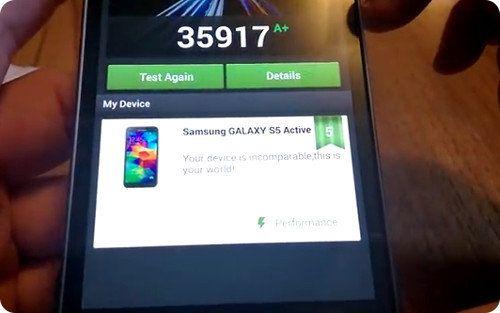 Todos los detalles del Samsung Galaxy S5 Active