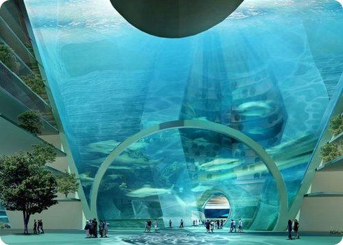 Una compañía china quiere construir una espectacular ciudad flotante