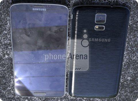 Así se ve el Galaxy F junto al Galaxy S5