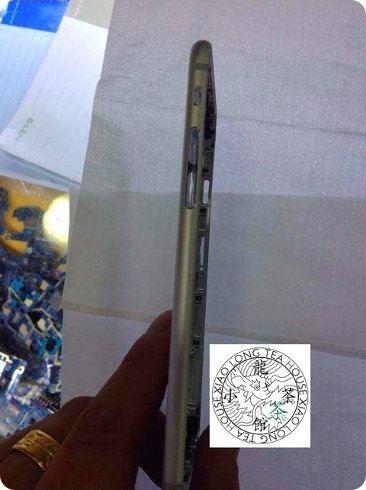 Así se vería la parte de atrás del iPhone 6