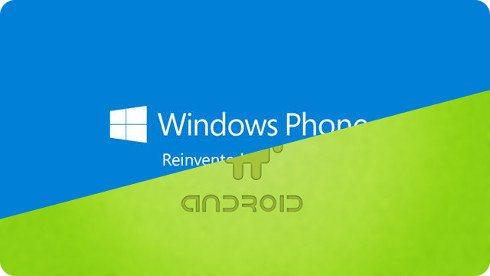 Crece la cuota de mercado de Windows Phone y Android