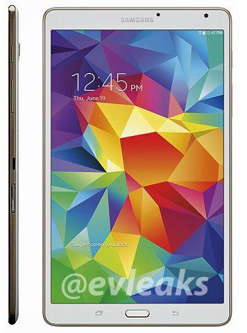 Filtrada la Samsung Galaxy Tab S 8.4