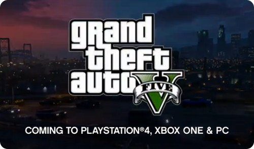 GTA V confirmado para PC, PS4 y Xbox One