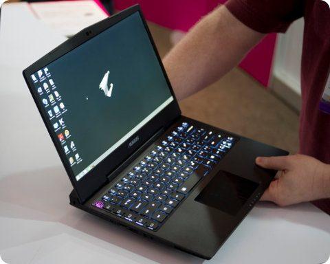 Gigabyte Aorus X3: una laptop gamer poderosa y liviana