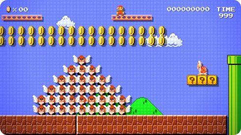 Mario Maker te permite crear tus propios niveles de Mario Bros