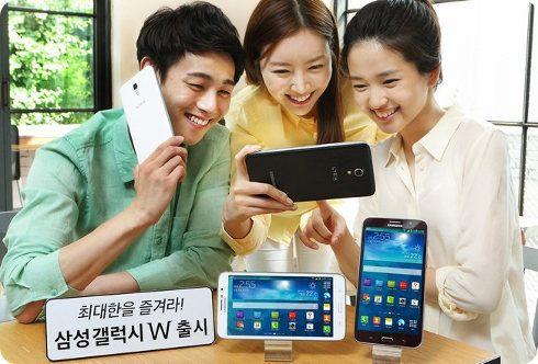 Samsung anuncia su nuevo phablet, el Galaxy W