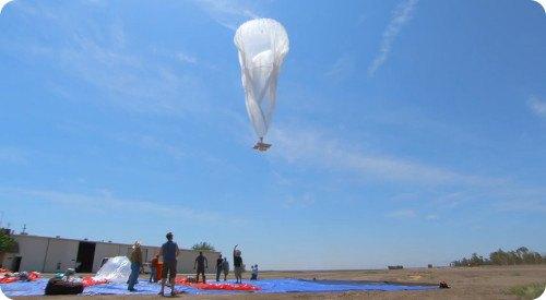 Un globo del Project Loon de Google cae en Nueva Zelanda
