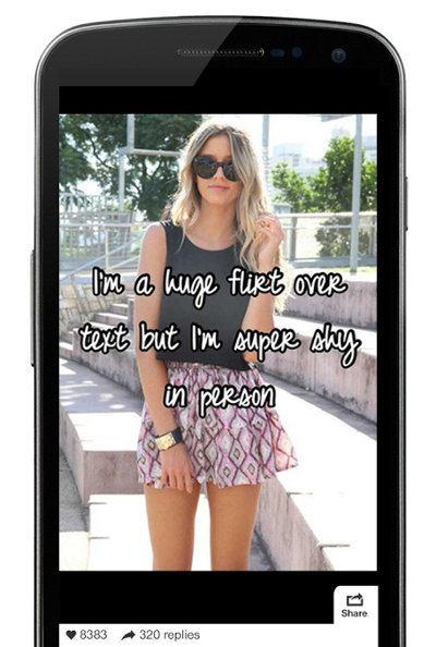 adolescente en smartphone