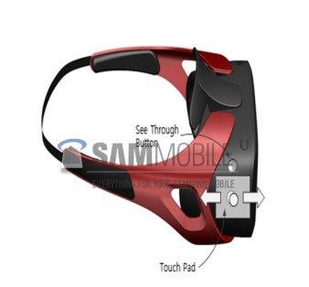 Así es el casco de realidad virtual de Samsung