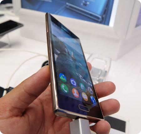 Así es la versión dorada del Samsung Z