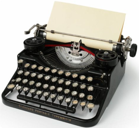 En Alemania volverían a utilizar máquinas de escribir